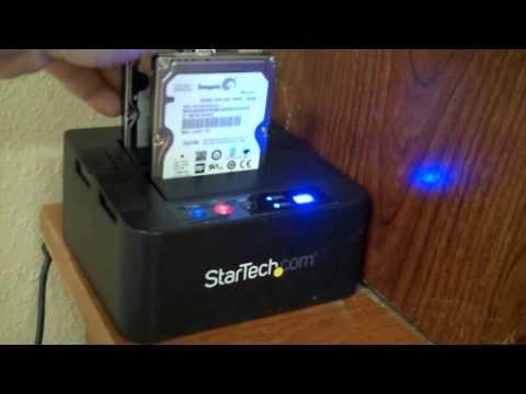 Startech Hard Drive Duplicator Dock , tutorial vlog
