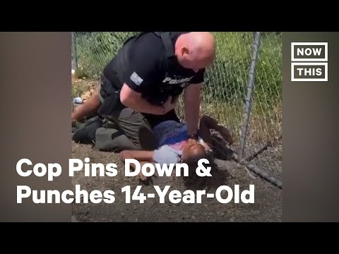 14-Year-Old Beaten by Cop While Pinned to Ground | NowThis