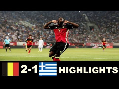 Greece vs Belgium 1-2  Highlights - World Cup Qualifiers 03/09/2017