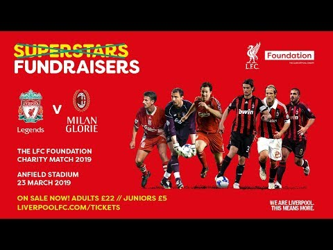 LFC Foundation Legends Charity Match 2019 Reveal!