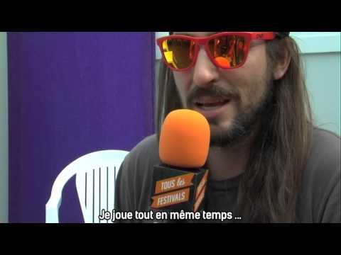 Brad Thomas Ackley - Vieilles Charrues 2013 - Interview pour Tous les Festivals