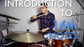 Download Lagu Introduction To 16th Notes | Easy Beginner Drum Lesson - Drum Beats Online Mp3