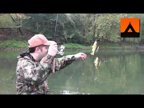 Fishing on the Juniata River –  Smallmouth Bass, Bluegill, and a Fish Fry