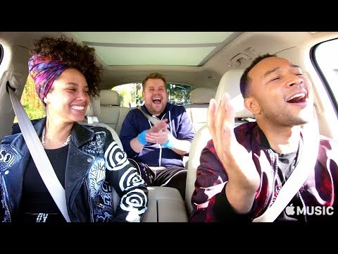 Carpool Karaoke: The Series Alicia Keys and John Legend-Apple Music