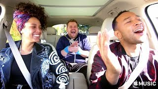 Video Carpool Karaoke: The Series — Alicia Keys and John Legend — Apple Music MP3, 3GP, MP4, WEBM, AVI, FLV April 2018