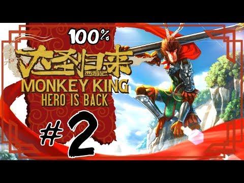 Monkey King: Hero is Back Walkthrough Part 2 (PS4) 100% Divine Peak