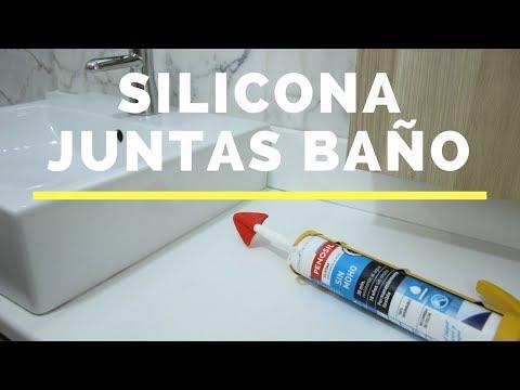 Tutorial: Cómo renovar las juntas del baño con silicona fácil, rápido y sin manchar.