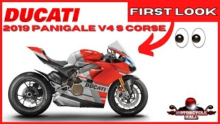 1. 2019 Ducati Panigale V4 S Corse | First Look