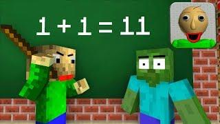 Video Monster School : BALDI'S BASICS BECOME TEACHER! - Minecraft Animation MP3, 3GP, MP4, WEBM, AVI, FLV Desember 2018