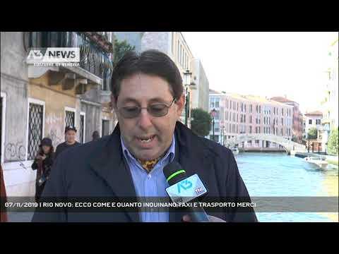 07/11/2019 | RIO NOVO: ECCO COME E QUANTO INQUINANO TAXI E TRASPORTO MERCI