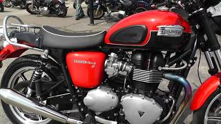 9. 530731 - 2012 Triumph Bonneville SE - Used motorcycles for sale