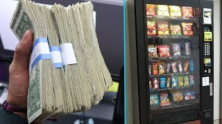Video Collecting Money From My 4 Vending Machines! MP3, 3GP, MP4, WEBM, AVI, FLV Maret 2019