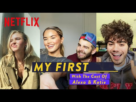 My First KISS?! & More with the Alexa & Katie Cast 🥇 Netflix Futures