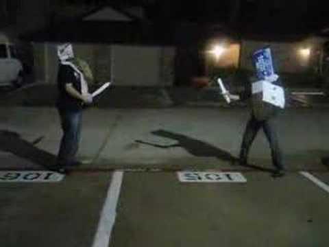 Bud Light Knights - Saga of the Pizza Box