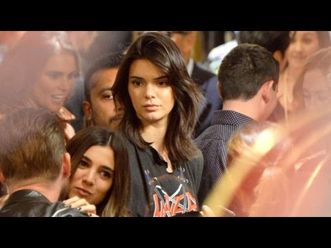 Kendall Jenner Attends Vintage Boutique Opening After Testifying Against Stalker