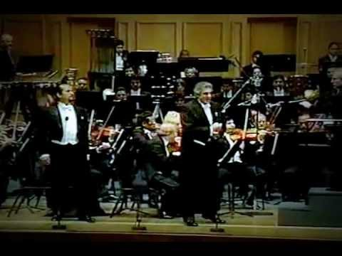 Dio, che nell´alma infondere.... Don Carlo G.Verdi,Plácido Domingo, Genaro Sulvaran