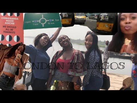 LONDON TO LAGOS VLOG | BELLS AND ZIBS