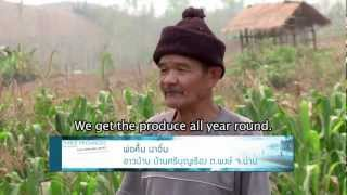 Nan Thailand  City pictures : Poverty-Environment Initiative in Nan, Thailand (English subtitles)