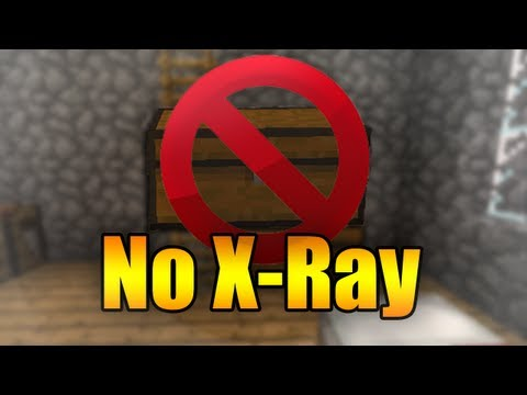 Hide Your Chests from the X-Ray - Minecraft
