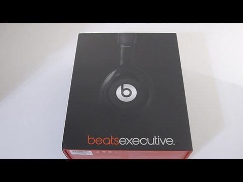 First Look: 2013 NEW! BLACK Beats Executive