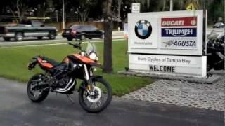 7. 2011 BMW F800 GS Enduro Motorcycle