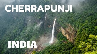 Cherrapunji India  city images : SPECTACULAR WATERFALLS & LIVING ROOT BRIDGES IN CHERRAPUNJI, MEGHALAYA, INDIA