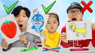 Video 핑크퐁 물감으로 그림 대결 놀이 해봤어요! 과연 롯데 미술대회 승자는 누가 될까요?! Pinkfong Paints Toy Learn colors MP3, 3GP, MP4, WEBM, AVI, FLV Januari 2019