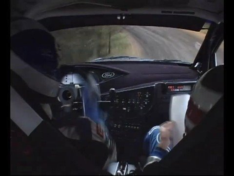 colin mcrae - on board impressionante!