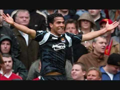 Carlos Tévez en el West Ham
