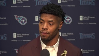 Watch #Titans Press Conference: DE Cameron Wake
