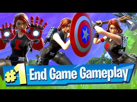NEW Fortnite Avengers End Game Gameplay