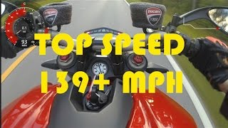 6. DUCATI STREETFIGHTER TOP SPEED *GPS VERIFIED*