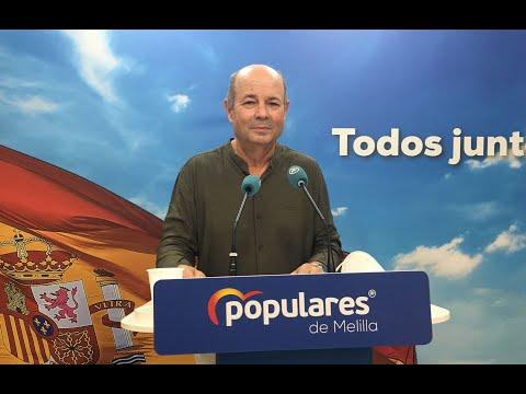 Daniel Conesa informa de las Interpelaciones que se harán al Gobierno de la Ciudad en el próximo Pleno de Control y de la decisión del Grupo Popular sobre la operación de crédito de 45,6 millones de euros.