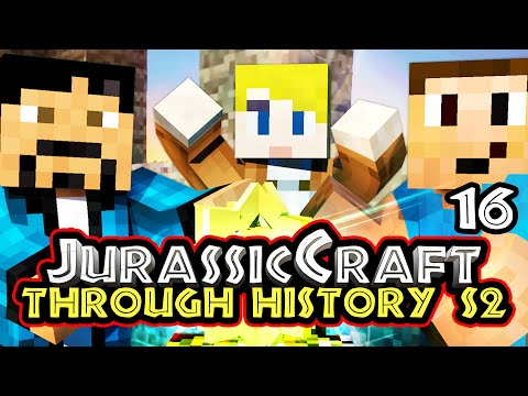 """CARFLO'S SECRETS!"" Minecraft – Jurassic Craft S2 ""Through History"" w/Chrisandthemike [RP]"