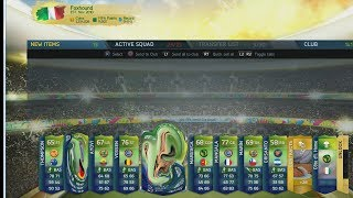 WORLD CUP PACK OPENING 2 AWESOME PLAYERS IN 1 PACK FIFA ULTIMATE TEAM