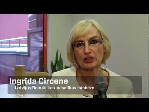 Veselības ministre Ingrīda Circene par NMP dienesta operatīvā transporta iegādi