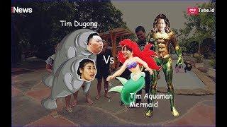 INTIP! Persiapan Pertandingan Aquaman dan Mermaid vs Dua Dugong Part 1A - UAT 22/03