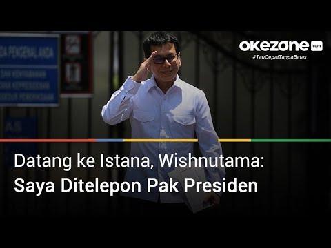 Wishnutama Sambangi Istana Kepresidenan