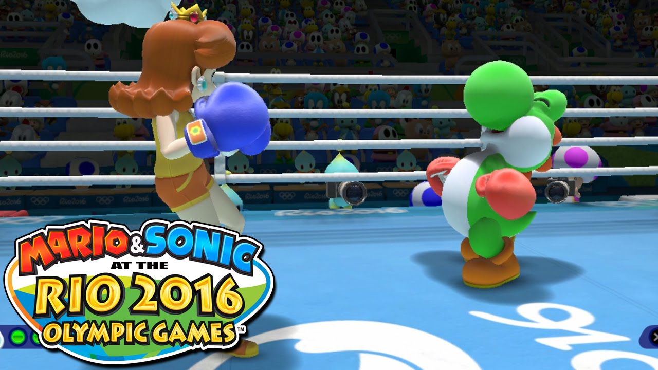 BOXING & TABLE TENNIS – Mario and Sonic at the RIO 2016 Olympics [Wii U]