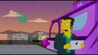 The Simpsons - Lady Gaga little Monster