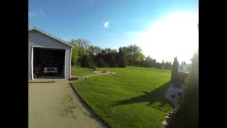 Time Lapse Mowing the Lawn - GoPro Hero 3 Black Edition