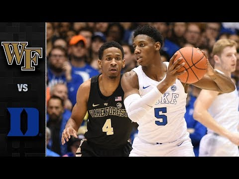 Wake Forest vs. Duke Basketball Highlights (2018-19)
