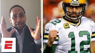 Stephen A., Adam Schefter react to Aaron Rodgers' record-breaking extension | NFL Live | ESPN