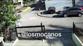 Momento que Asaltan Mujer en Herrera – Los Mocanos
