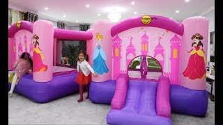 Download Lagu Princess BOUNCY CASTLES In My HOUSE Mp3