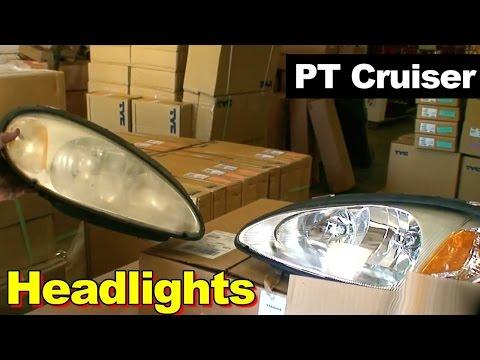2001-2005 Chrysler PT Cruiser Headlight Repair Replacement
