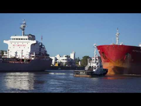 El primer puerto argentino en el Río de La Plata
