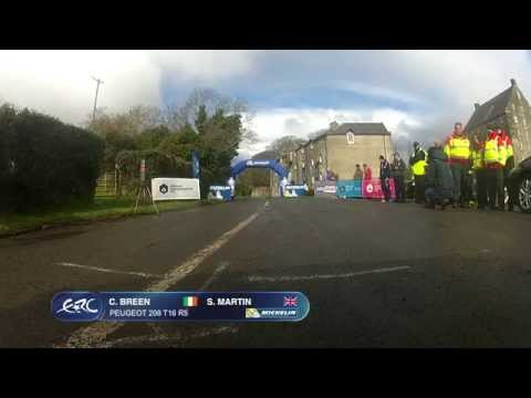 Circuit of Ireland Rally 2015 - Breen Ground OBC SS1