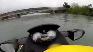 9. Sea doo Gti 155 SE 2007- top speed / velocidade máxima