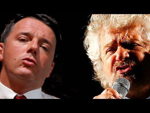 Σε θέσεις μάχης Ρέντσι – Γκρίλο για το δημοψήφισμα της 4ης Δεκεμβρίου